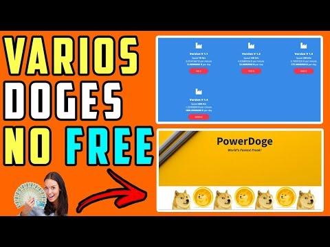 SAIU ! 2 Novos sites para lucrar MUITO Dogecoin ! Ganhe Doge no modo free !