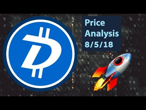 DigiByte(DGB) Price Analysis 8/5/18 (Two Steps Back)