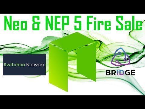 NEO and NEP-5 Fire Sale: $SWTH $TOLL $NEO way too cheap