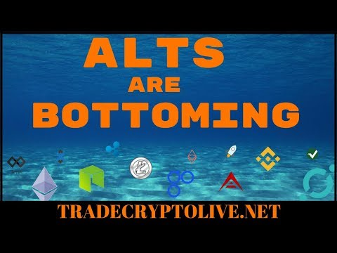THE ALTS ARE BOTTOMING! *STRAT*BAT*NXT*REQ*KMD*SKY*XLM*XVG*ICX*OST * – Aug 7th 2018