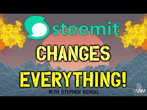 Getting The WORLD On Steemit! – How The Social Media Changes Everything (with Stephen Kendal)