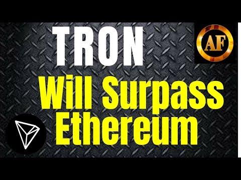 Tron (TRX) – Will Surpass Ethereum Post VM Launch