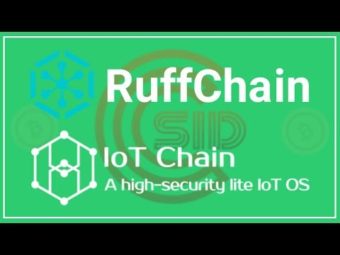 Internet of Things – Ruff Chain & IoT Chain
