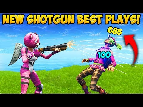 *NEW* SHOTGUN IS BROKEN! – Fortnite Funny Fails and WTF Moments! #282 (Daily Moments)