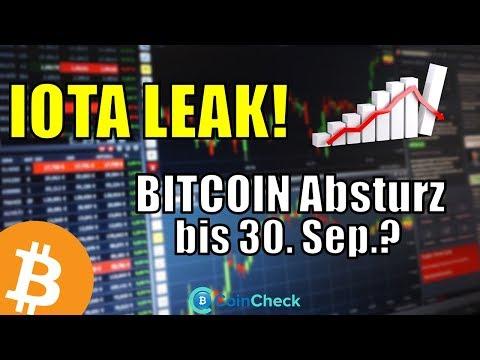 Bitcoin Absturz wegen ETF | Founder-Krieg bei IOTA! Chatverlauf geleaked! Krypto News 08.08.2018