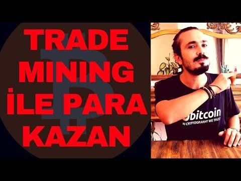 TRADE MINING İLE PARA KAZAN! (Coinex'te Bitcoin, Ethereum, Altcoin Al Sat Madenciliği Yap)