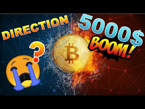 BITCOIN 5000$ CRASH CONTINUE ???? BTC analyse technique crypto monnaie