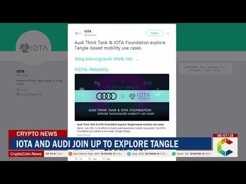 IOTA and Audi Join Up to Explore Tangle