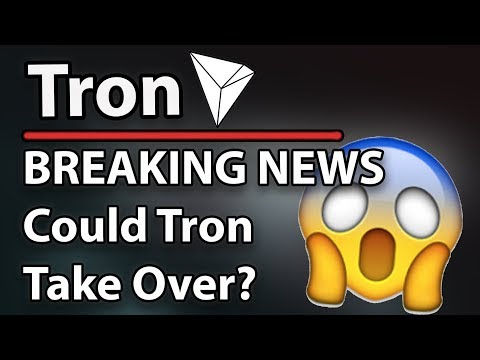 Tron (TRX) Breaking News – Could Tron Beat Facebook/Twitter? Raybo SR & Phub confirmed!