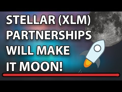 These Are The Stellar Partnerships That Will Send XLM To The Moon