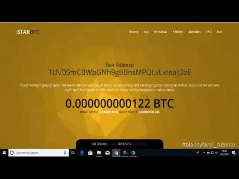 Legit !! Free Bitcoin Mining 2018 – Mining Speed 10 BHS – Earn Up 0.0005 BTC