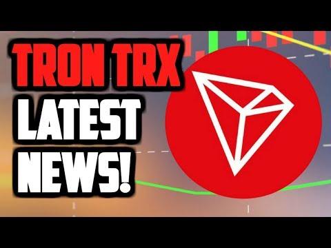 TRON TRX LATEST NEWS! TRON WILL PASS ETHEREUM? TRON VIRTUAL MACHINE UPDATE