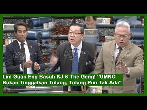 """Lim Guan Eng Basuh KJ & The Geng! """"UMNO Bukan Tinggalkan Tulang, Tulang Pun Tak Ada"""""""