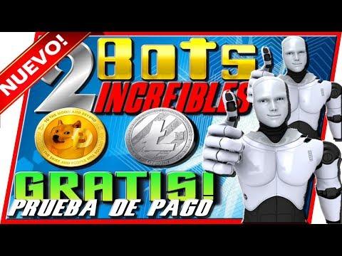 🤖 Nuevos BOTS Para Ganar Dogecoin y Litecoin Gratis Prueba De Pago Tengo Dinero
