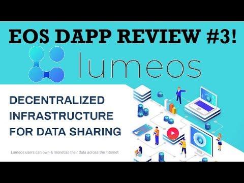EOS Dapp Review #3: LUMEOS – A Decentralized Data Sharing Platform