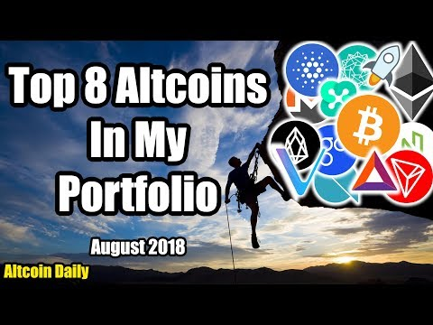 Top 8 Altcoins in My Portfolio!!! + Is The Crypto Market Tanking!?! [Cryptocurrency Bitcoin]