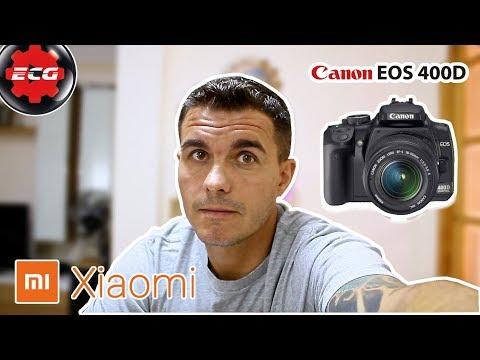 Ofertas Xiaomi con la Canon EOS 4000D