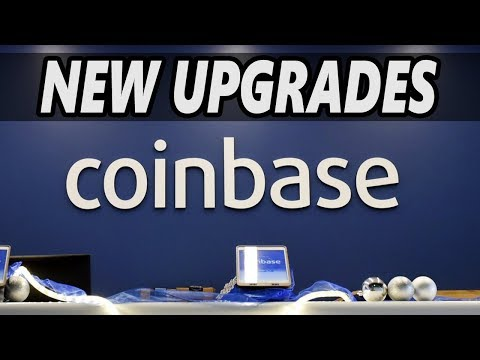 Coinbase – New Upgrades – Big Improvements ? – Cryptocurrency News