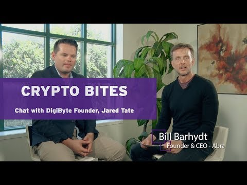Crypto Bites – Chat with DigiByte Founder, Jared Tate