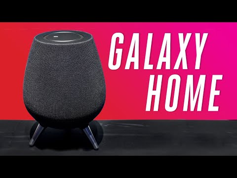 Samsung Galaxy Home smart speaker with Bixby: first look
