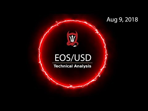 EOS Technical Analysis (EOS/USD) : Give me a Low 5  [08/09/2018]