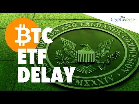 Crypto Markets Slump Following SEC Bitcoin ETF Delay