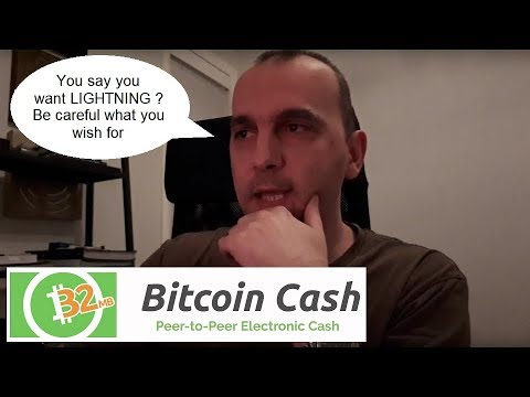 Bitcoin is BCH and Lightning is Digital Fiat created for Central Banks hiding behind Bitcoin's name