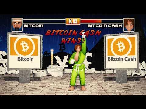 Rebirth of Bitcoin: Bitcoin vs Bitcoin Cash via Street Fighter