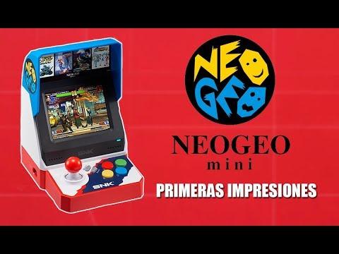 NEO GEO mini – UNBOXING y primeras IMPRESIONES en español