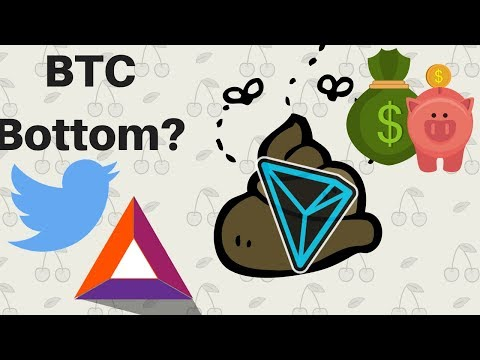 Bitcoin Bottomed? Tron Redefines Sh*t Coin! BAT Integration! Swiss Banks? ZEN Giveaway! Plus More +