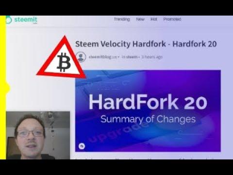STEEM HardFork 20 e prima ICO su EOS in dollari