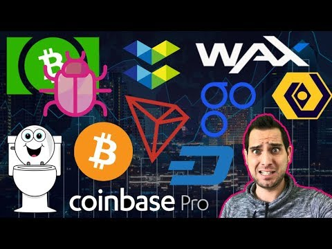 Bitcoin Cash BUG! TRON Toilets 🚽 OmiseGO SCAM | Bitfi Hacked? $DASH NFC Party!  $TRX $OMG $BCH $WAX