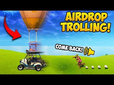 STEALING AIR DROPS! (2000 IQ) – Fortnite Funny Fails and WTF Moments! #285
