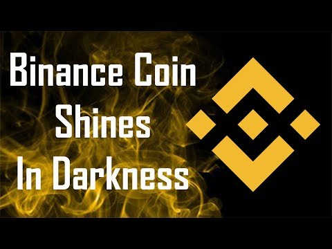 Binance Coin Shines is Darkness $BNB