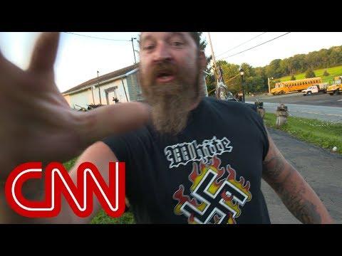 Neo-Nazi says he's emboldened by Trump