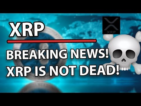 Ripple (XRP) Breaking News – XRP Is Not Dead &  Will Be Catapulted To The Sky!