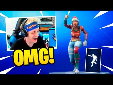 NINJA REACTS TO *NEW* PUMPERNICKEL DANCE EMOTE! – Fortnite Funny Fails & WTF Moments #86