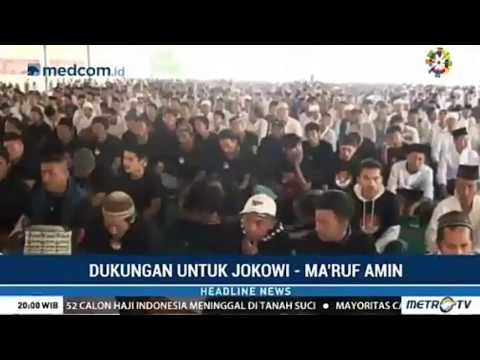 Saking Cintanya Rakyat pada Presiden ada Pesawat lewat Dikira Pak Jokowi