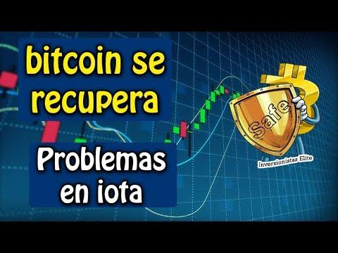 bitcoin se recupera, problemas en iota, facebook & stellar y mas noticias del mercado
