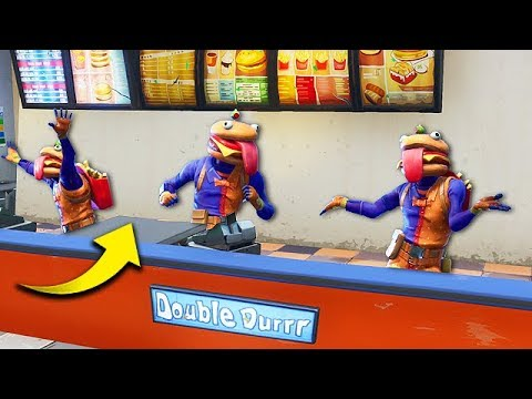 EPIC NEW *BURGER SKIN* TROLLING! – Fortnite Funny Fails and WTF Moments! #286