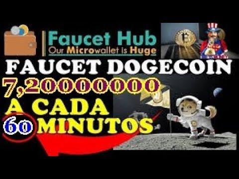 PremiumFaucet Ganhe 7,20000000 Dogecoin Por hora faucet 2018