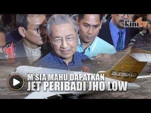 Selepas Equanimity, M'sia mahu dapatkan jet peribadi Jho Low