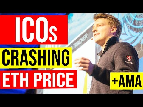 How ICOs are Crashing ETH Price – Programmer explains