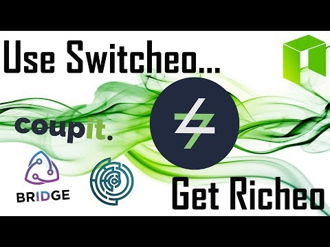 Use Switcheo Get Richeo | Gateway to $NEO Nep-5 Smart Economy $SWTH $TOLL $COUP $EFX
