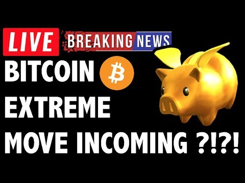 Extreme Move Incoming for Bitcoin (BTC)?! – Crypto Trading & Cryptocurrency Price News