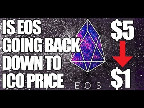 Is EOS Going to Dump Back Down to $1.00 ICO Price? Is The Hype Over?