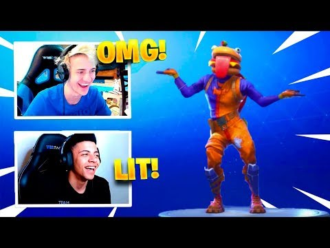 STREAMERS REACT TO *NEW* LIVING LARGE DANCE EMOTE! – Fortnite Funny Fails & WTF Moments #89