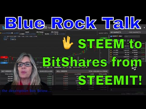 🖖 Transferring STEEM to BitShares (BTS) from STEEMIT Earnings!