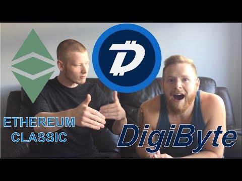 Why We Buy Digibyte! Ethereum Classic FOMO!