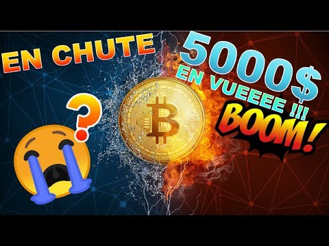 BITCOIN 5000$ EN VUEEEE???? BTC analyse technique crypto monnaie